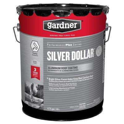 5 Gal. Silver Dollar Aluminum Reflective Roof Coating (18-Pallet)