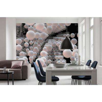 Abstract 3D Spherical Wall Mural