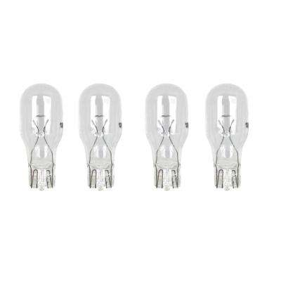 7-Watt Soft White (2700K) T5 Wedge Dimmable Incandescent 12-Volt Landscape Garden Light Bulb (4-Pack)