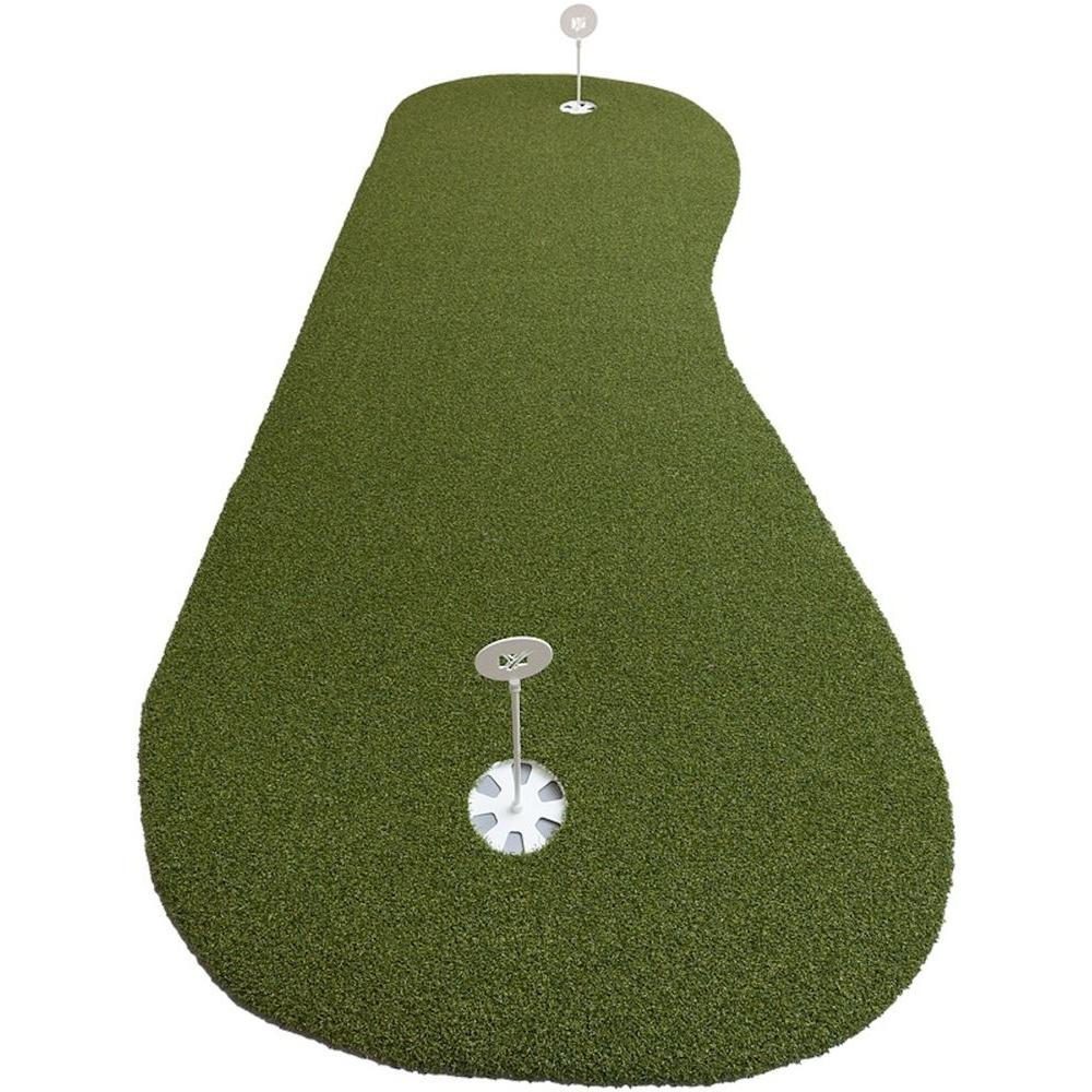 DuraPlay 3 ft. x 8 ft. Elite Indoor and Outdoor Synthetic Turf Golf ...