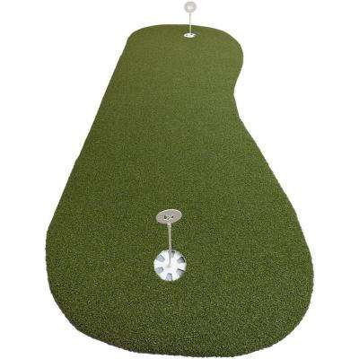 3 ft. x 8 ft. Elite Indoor and Outdoor Synthetic Turf Golf Practice Putting Green