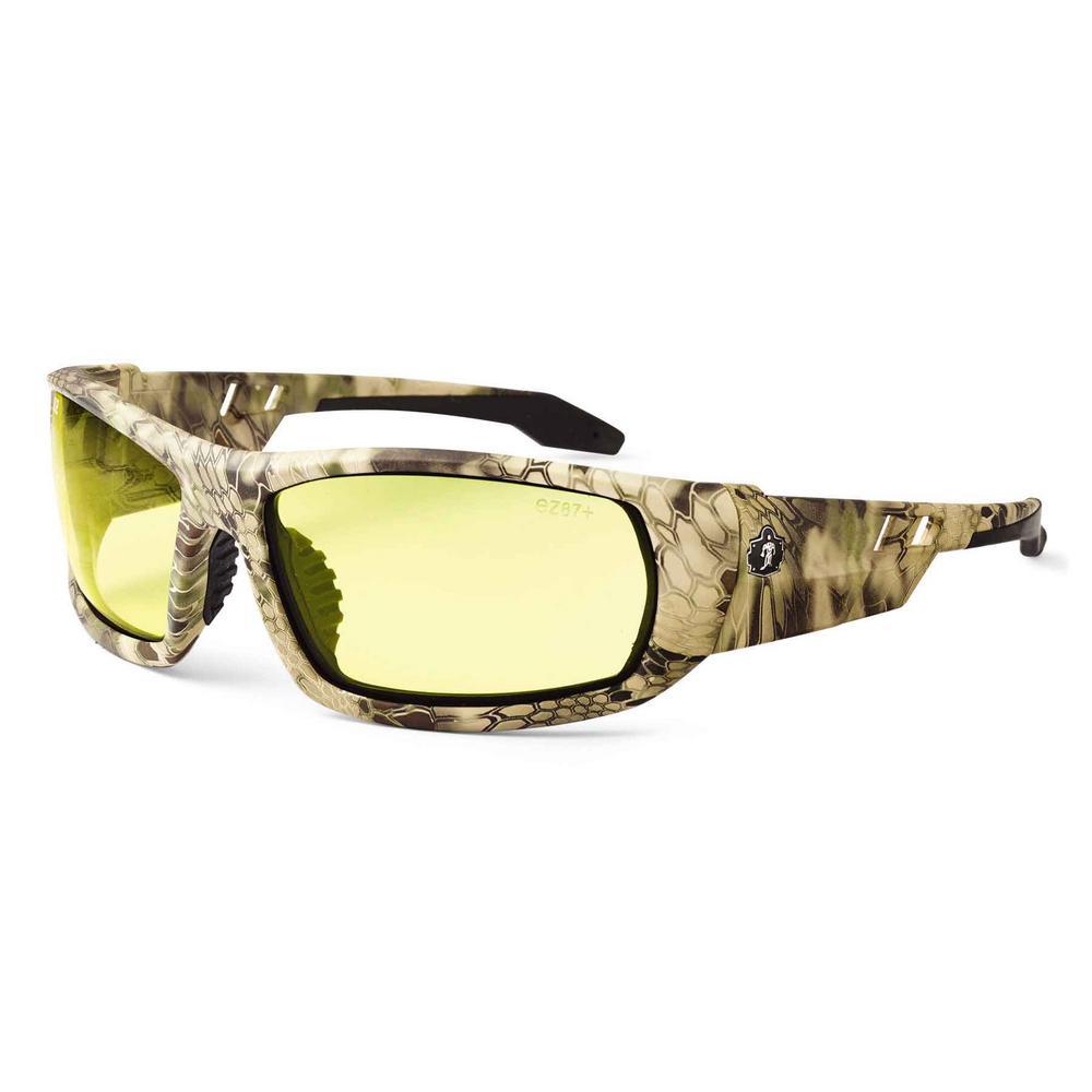 Skullerz Odin Kryptek Highlander Safety Glasses, Tinted Lens - ANSI Certified