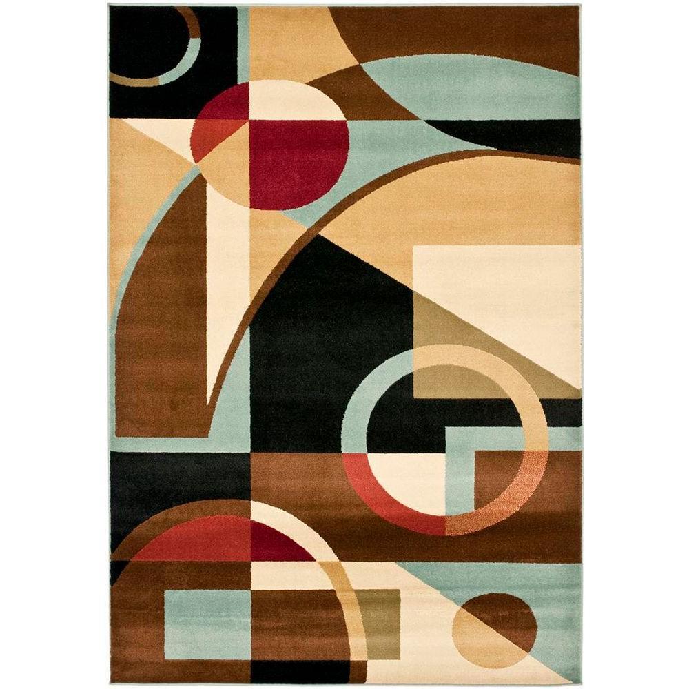 Porcello Black/Multi 6 ft. 7 in. x 9 ft. 6 in.