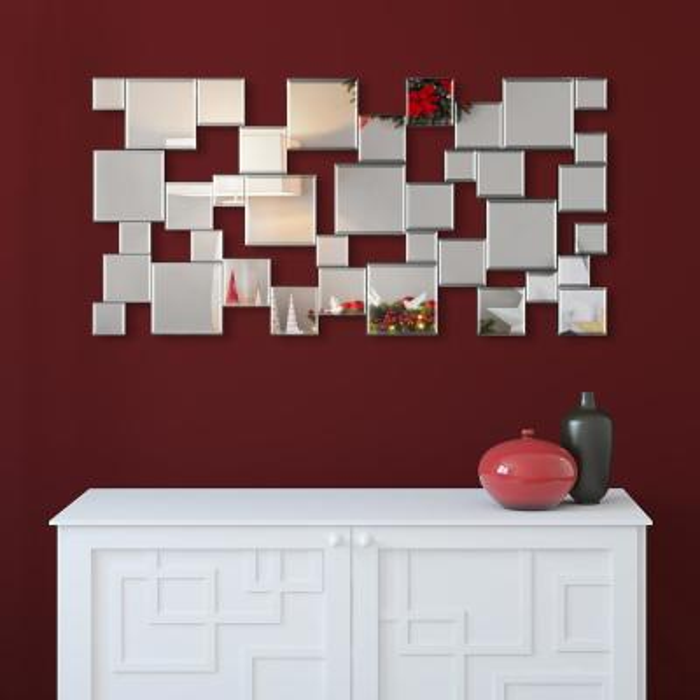 Elegant Cluster Wall Mirror