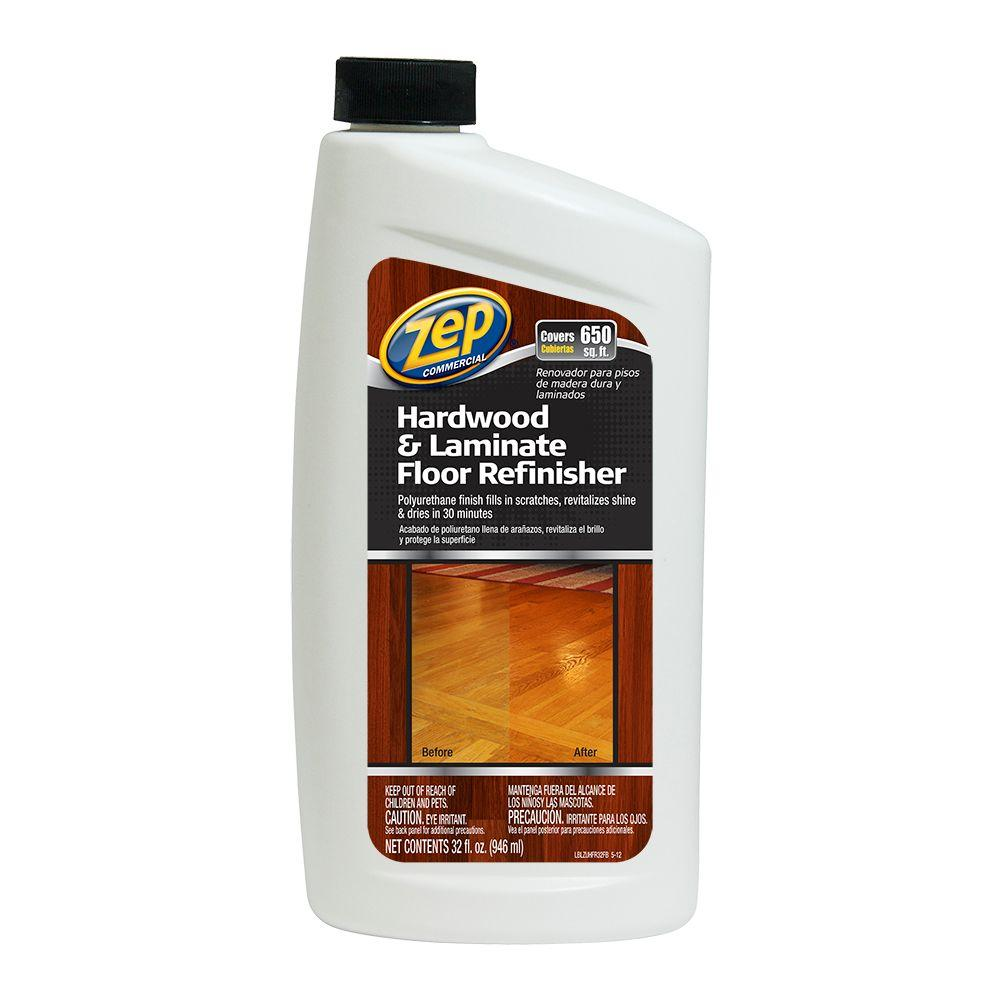 ZEP 32 Oz. Hardwood And Laminate Floor Refinisher