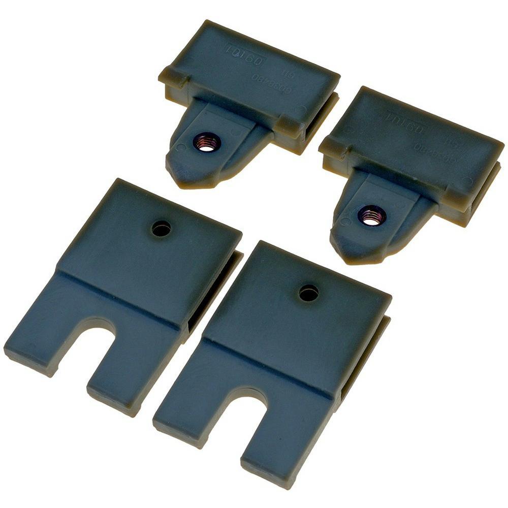 Door Glass Attaching Clips - Rear