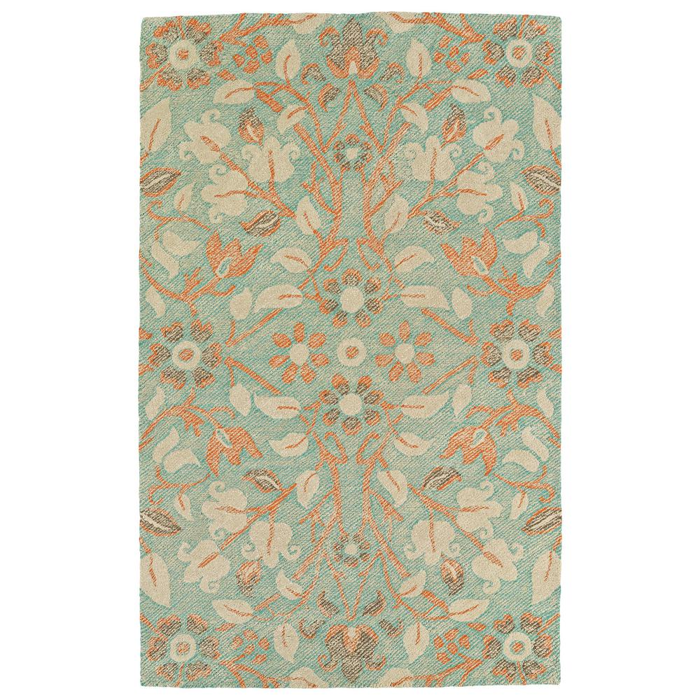 Kaleen Helena Turquoise Area Rug Reviews: Kaleen Weathered Turquoise 8 Ft. X 10 Ft. Indoor/Outdoor