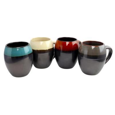 Soroca 4-Piece Assorted Colors 19.5 oz. Mug Set
