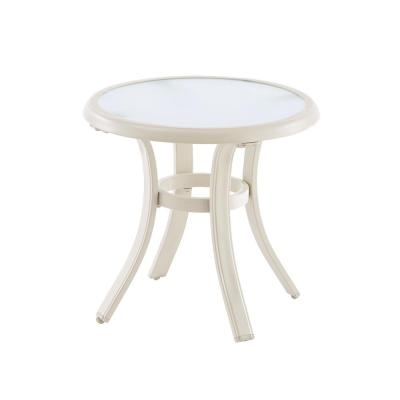 Hampton Bay Aluminum Outdoor Side Table