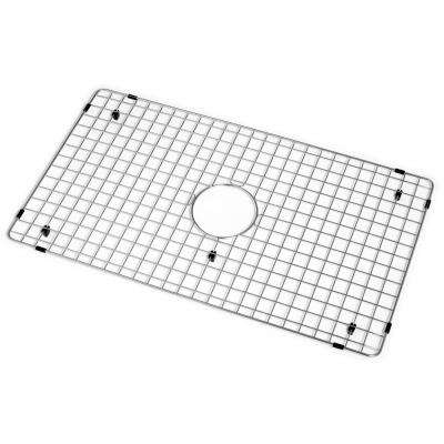 Wirecraft Series 30 in. x 17.13 in. Bottom Grid, Stainless Steel