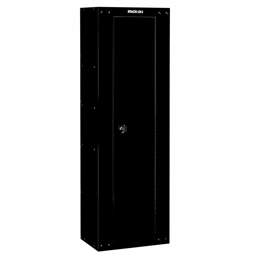 Stack-On 8-Gun Ready to Assemble Security Cabinet, Black-GCB-8RTA ...