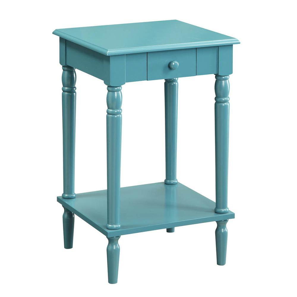 Convenience Concepts French Country Blue End Table