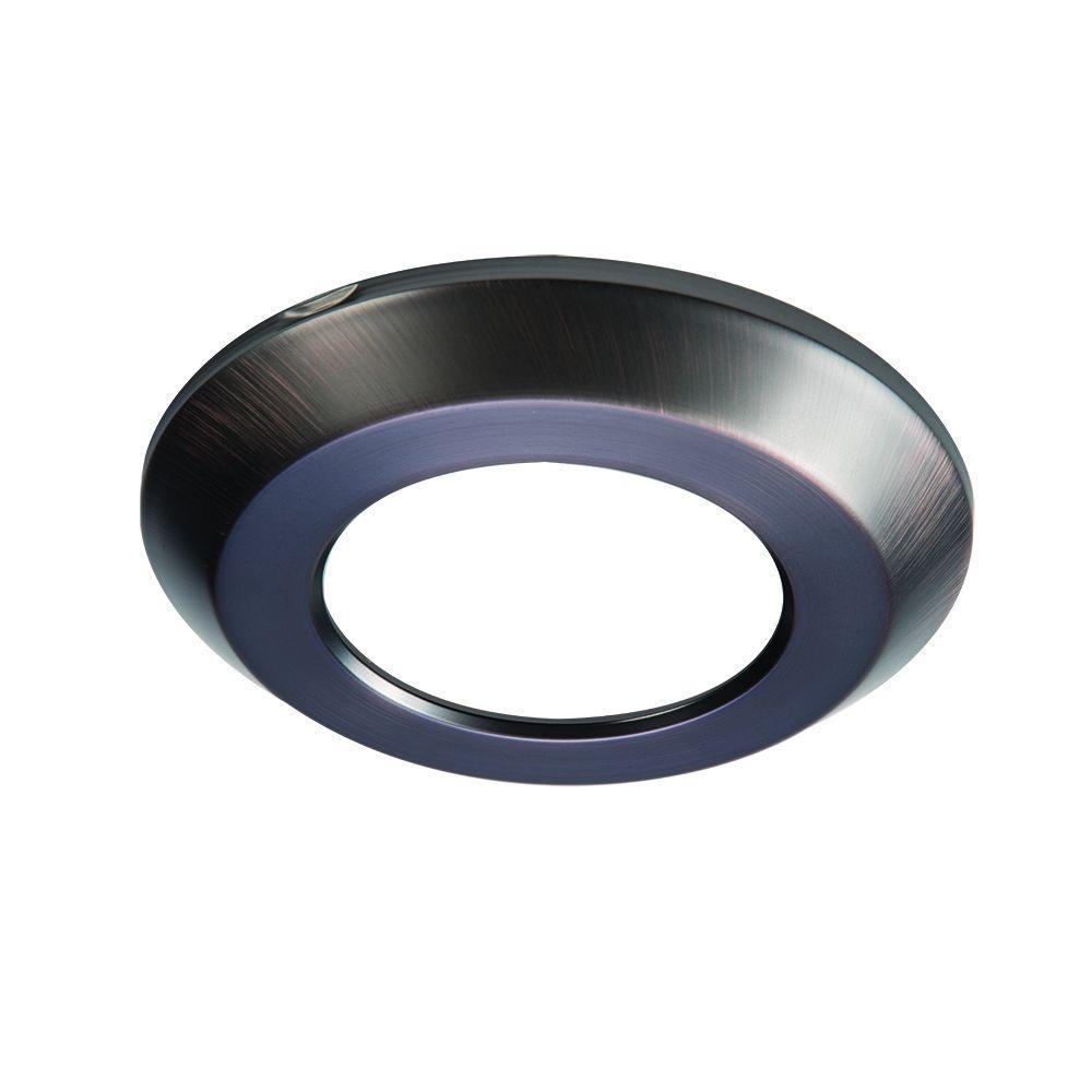 SLD 4 in. Tuscan Bronze Recessed Lighting Retrofit Trim Ring