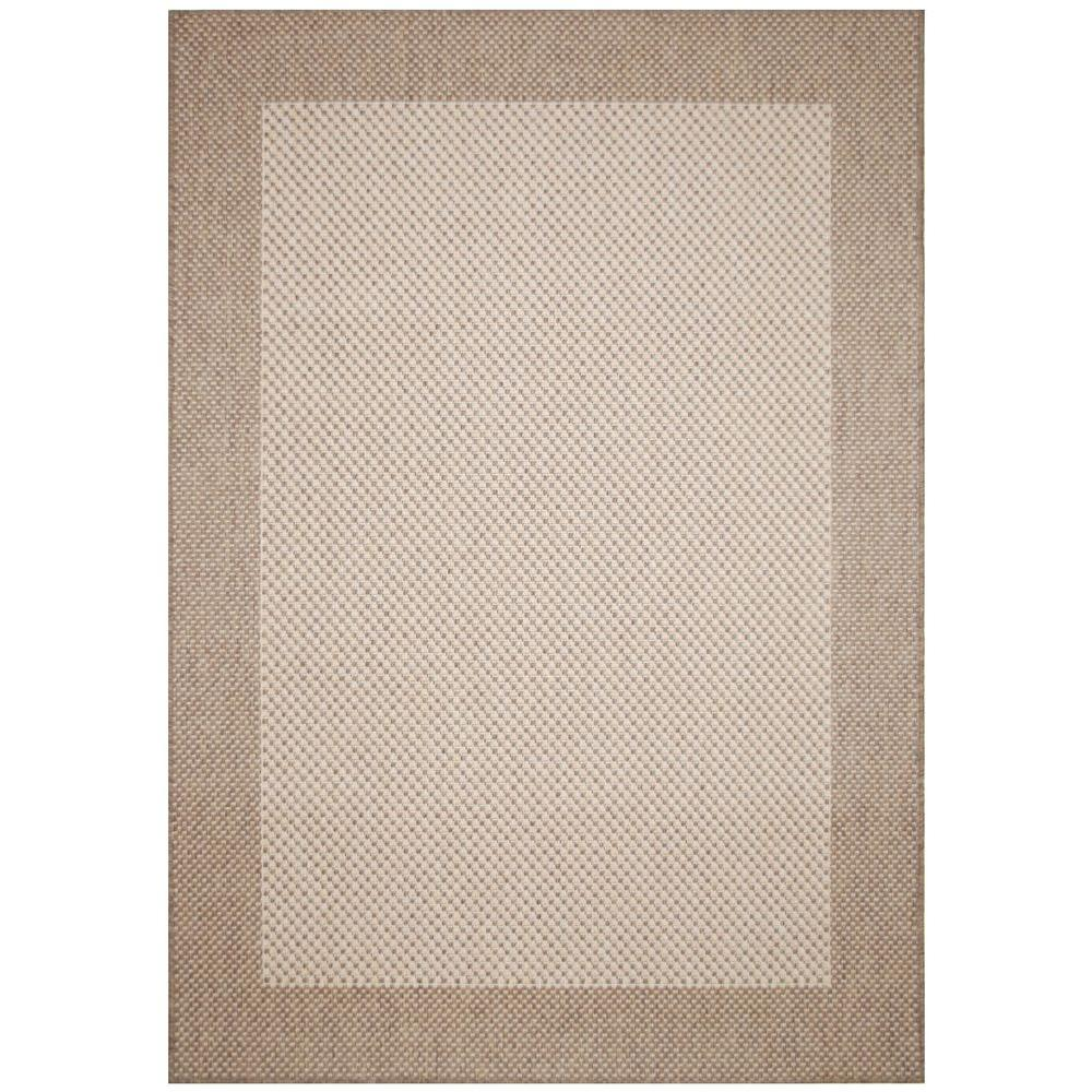 Direct Home Textiles Brown 8 ft. x 11 ft. Area Rug-DISCONTINUED
