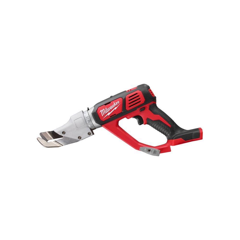 Milwaukee M18 18-Volt Lithium-Ion Cordless 18-Gauge Single Cut Metal Shear