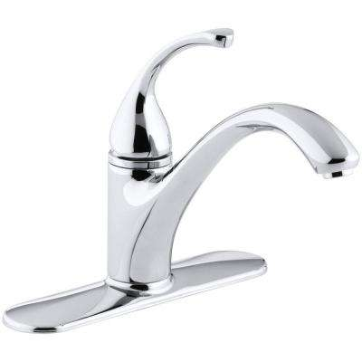 Forte Single-Handle Standard Kitchen Faucet in Polished Chrome