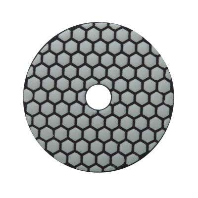 4 in. 50 Grit Resin Dry Polishing Pad