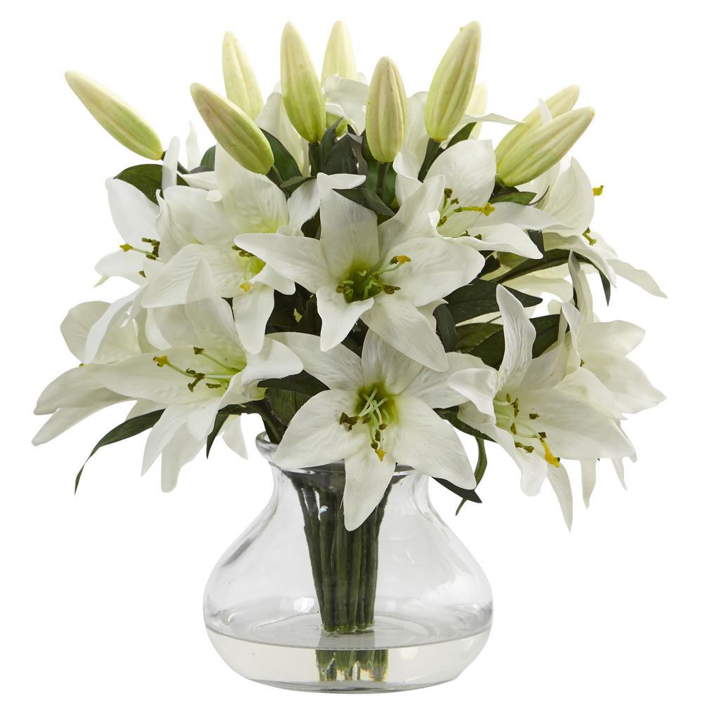 Lily Arrangement with Vase