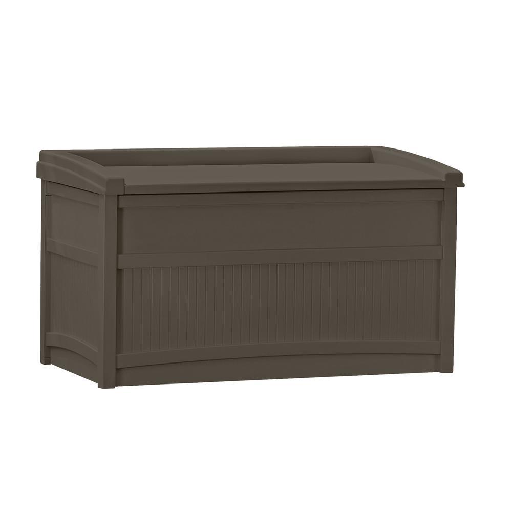 Suncast 50 Gal Resin Deck Box Db5500j The Home Depot
