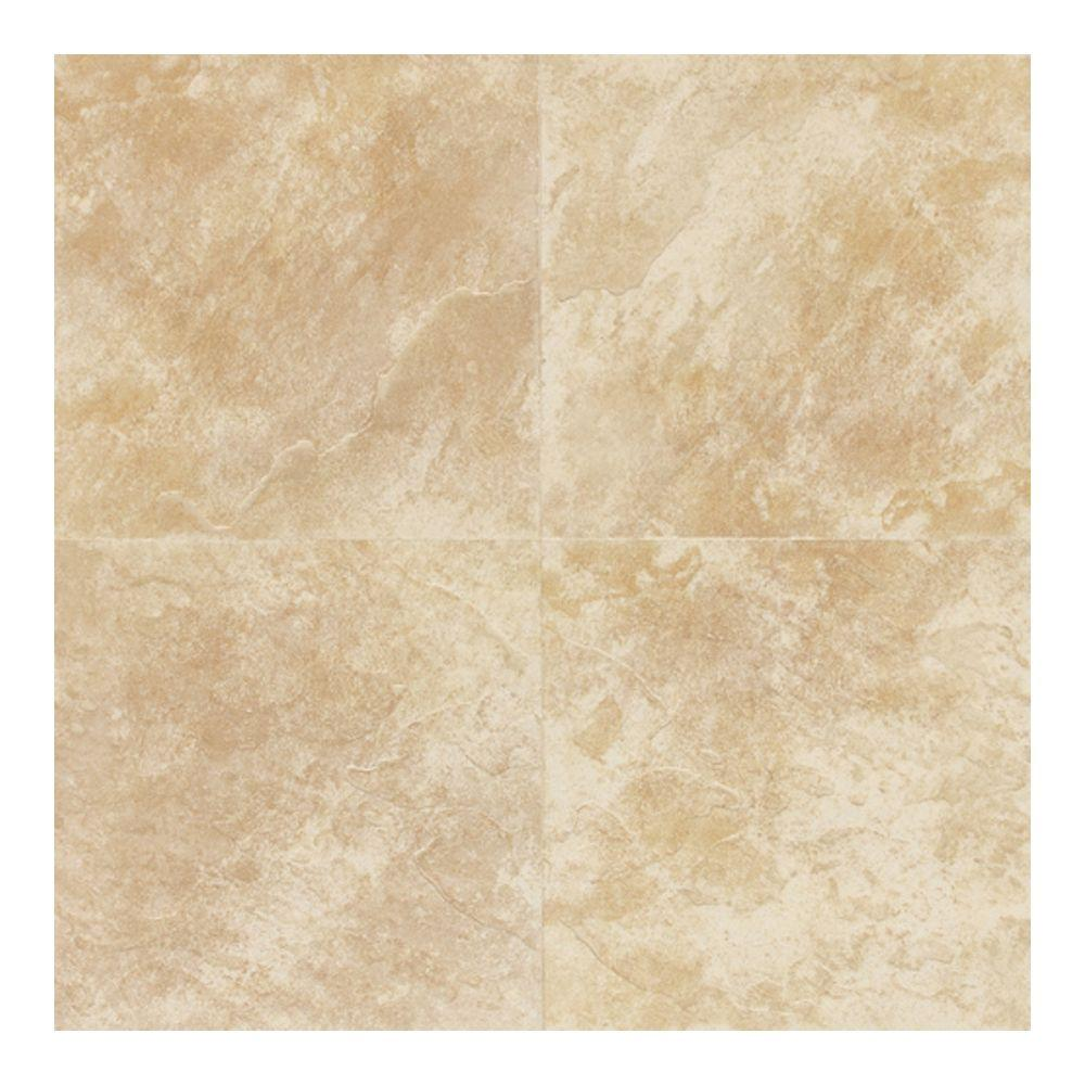 Continental Slate Persian Gold 18 in. x 18 in. Porcelain Floor