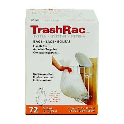 5 Gal. Kitchen Waste Bags (4 Rolls of 18 Bags Each) (72-Count)