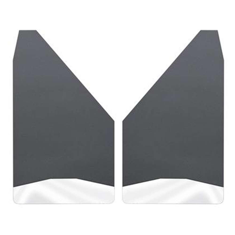 Universal 12 in. W Mud Flaps for Front or Rear with