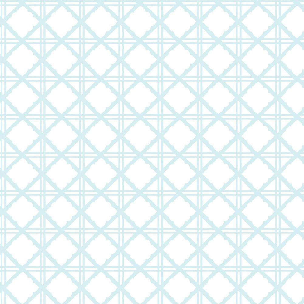 Graham Brown Symmetry Diane Blue Removable Wallpaper Sample