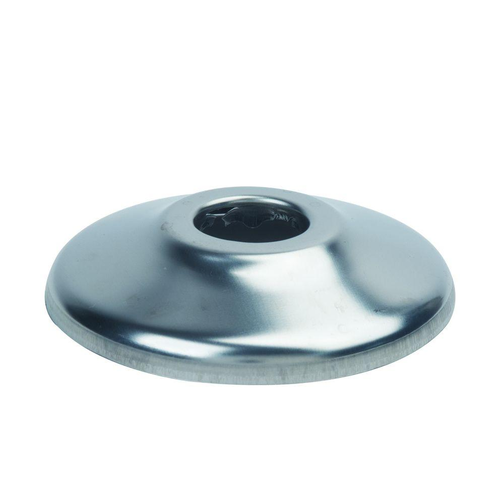 3/8 in. IPS Shallow Escutcheon in Chrome (2-Pack)