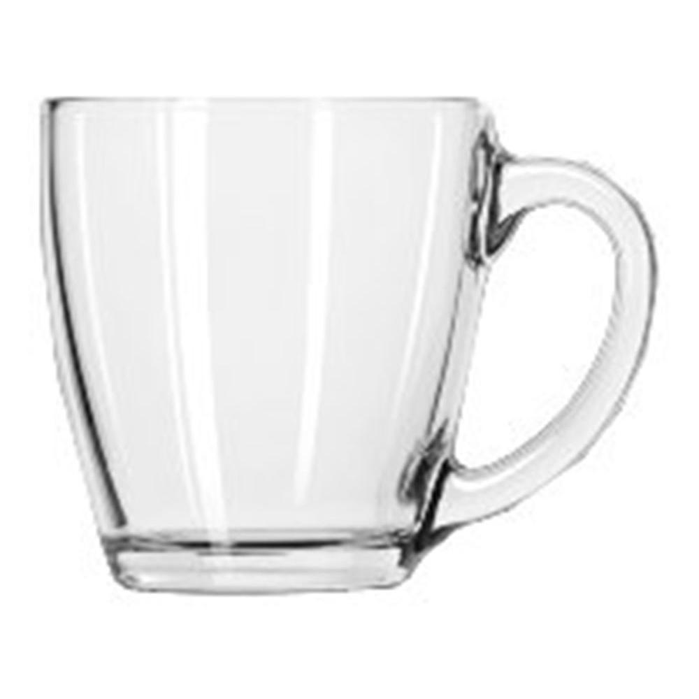 Libbey 15-1/2 oz. Tapered Mug in Clear (Box of 6)