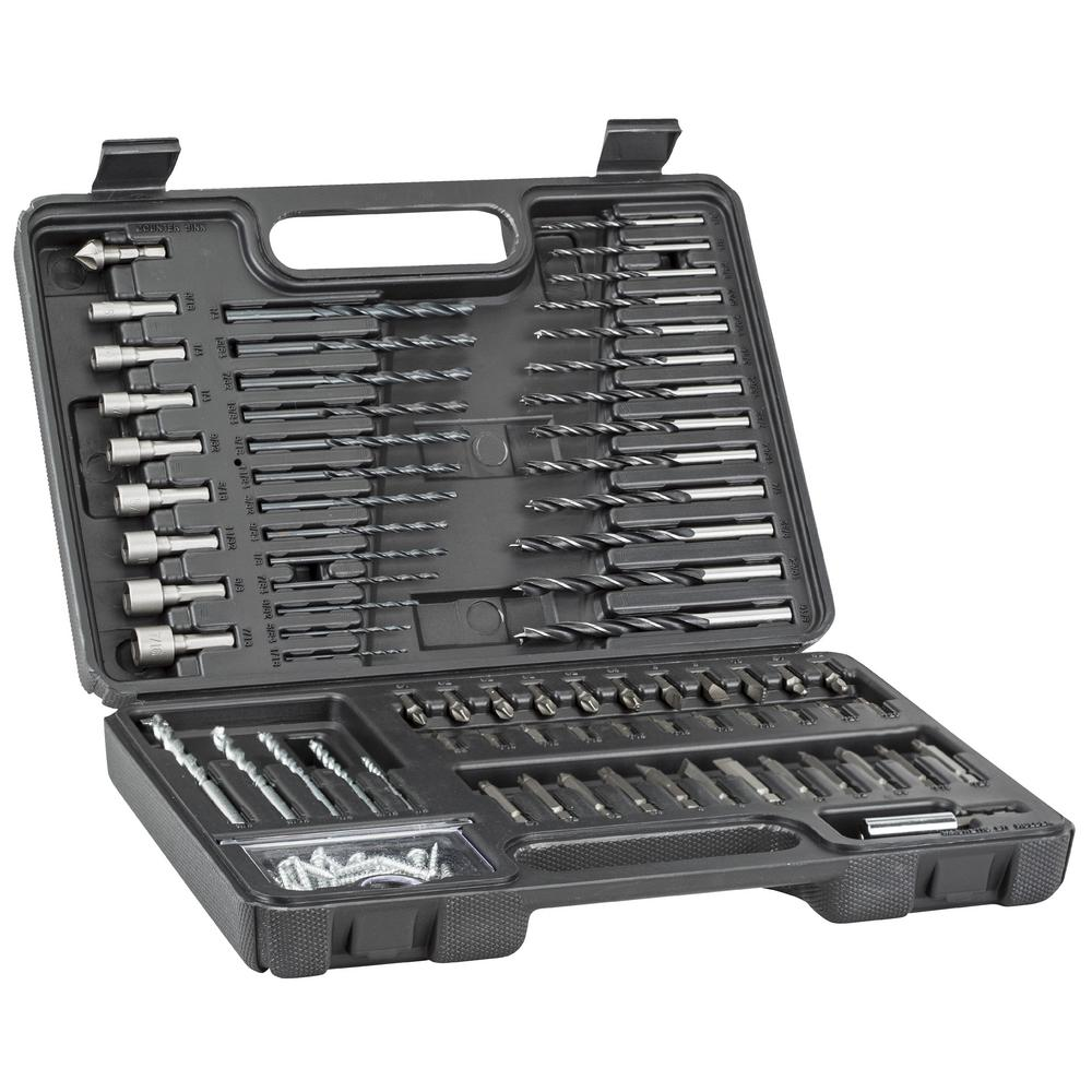BLACK+DECKER Combination Drill and Screwdriver Set (109-Piece)