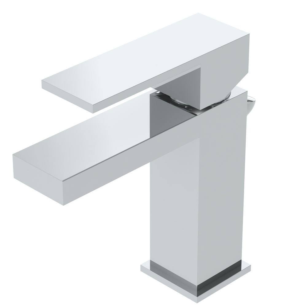 Symmons Duro Single Hole Single-Handle Bathroom Faucet with Drain ...