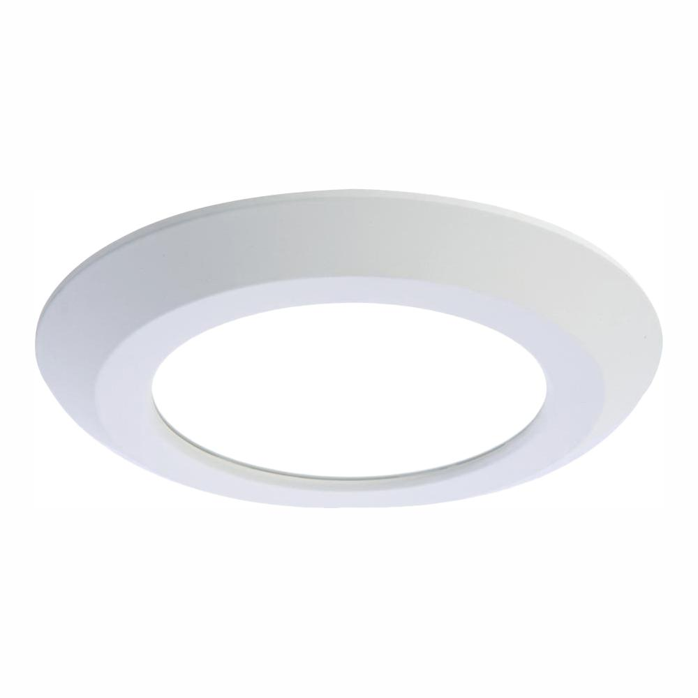 White Integrated Led Recessed Retrofit