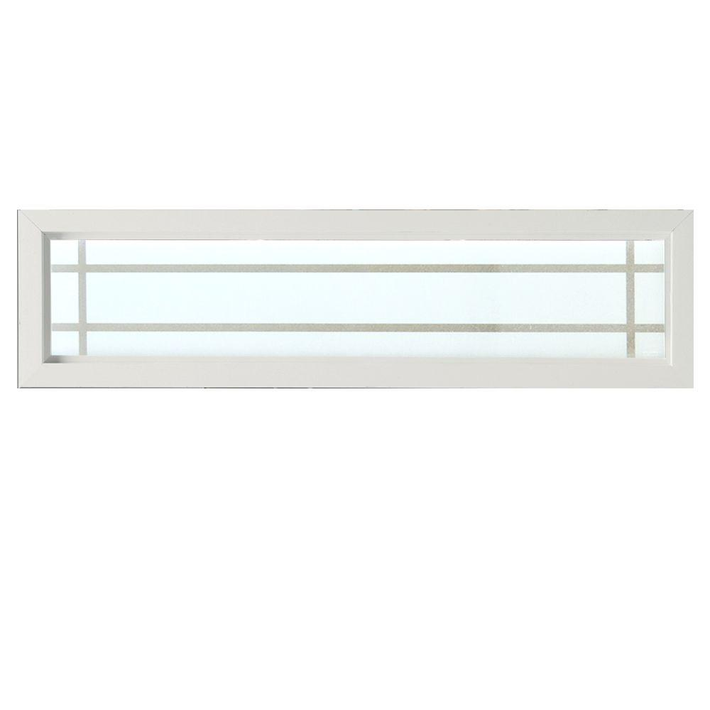 Hy Lite 47 5 In X 11 5 In Prairie Decorative Glass