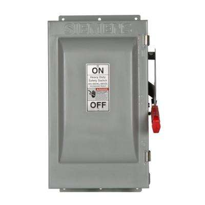 Heavy Duty 60 Amp 600-Volt 3-Pole Type 12 Non-Fusible Safety Switch