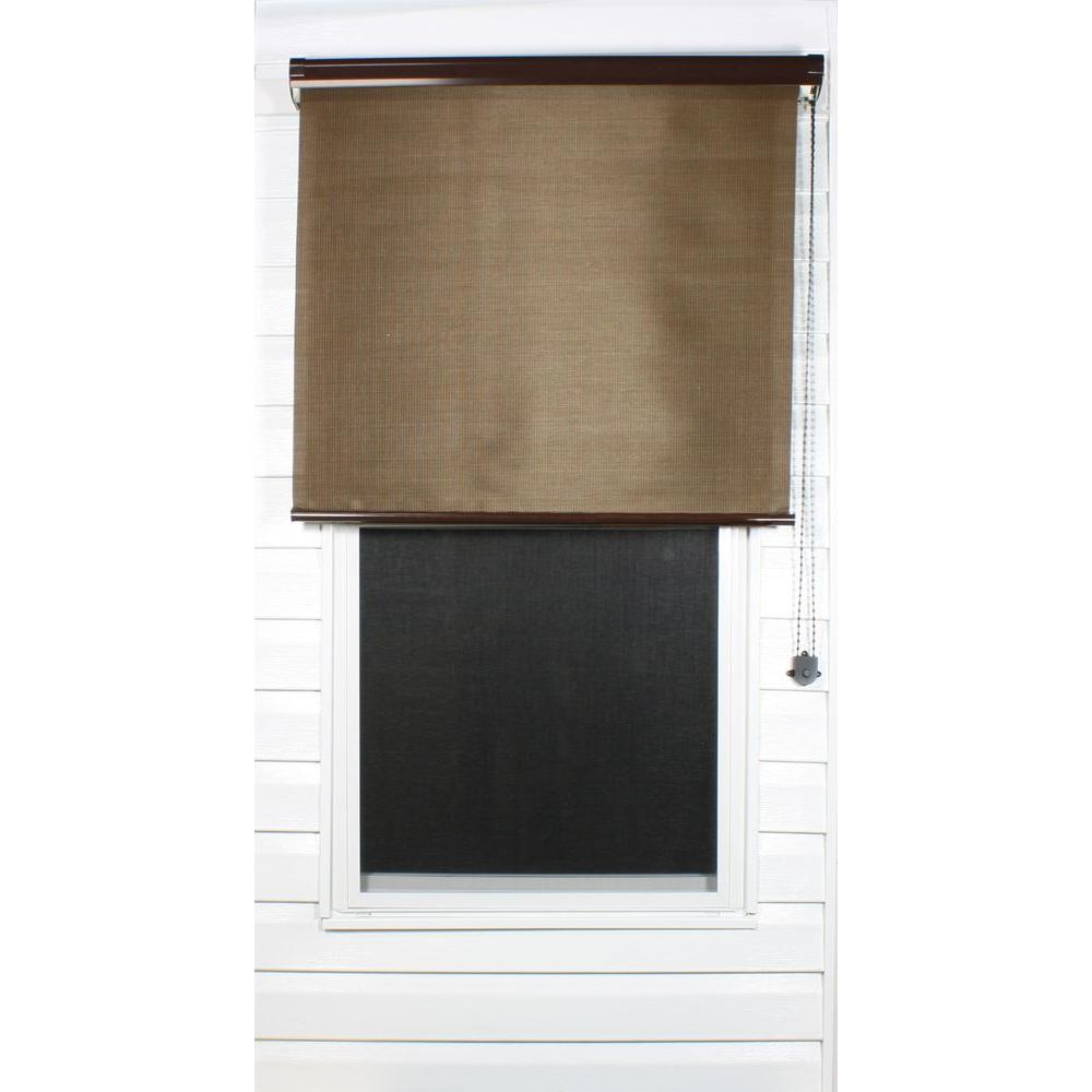 Coolaroo Java Exterior Roller Shade, 92% UV Block (Price Varies by Size)-DISCONTINUED