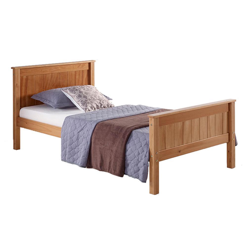Harmony Cinnamon Twin Bed