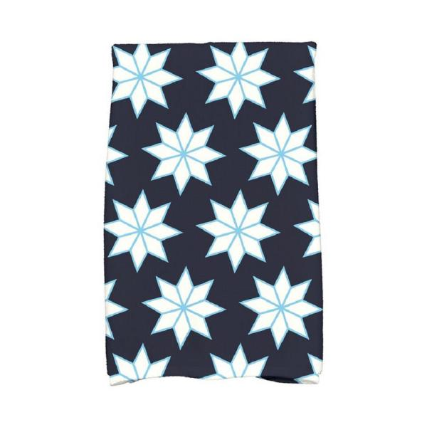 Navy Blue Christmas Stars 1 Holiday Geometric