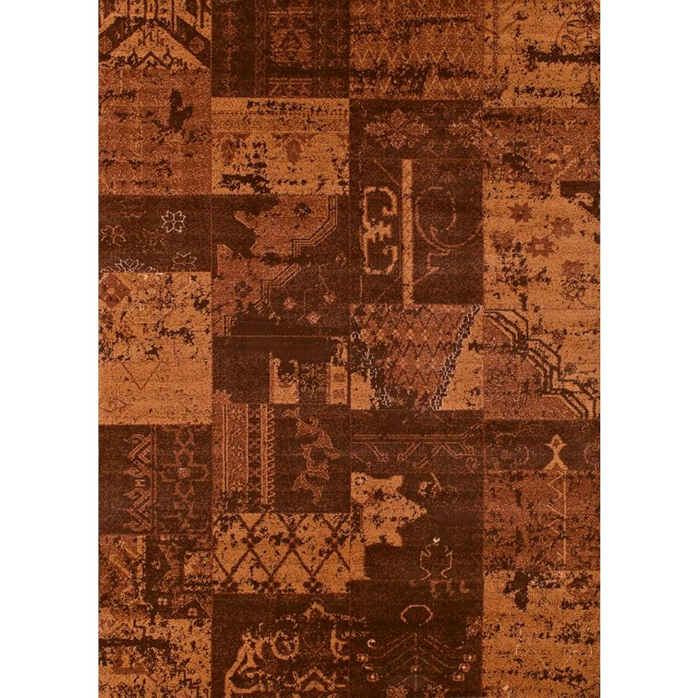 United Weavers Donatella Brown 5 ft. 3 in. x 7 ft. 2 in. Area Rug