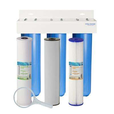 Whole House 3 Stage Water Filtration System ...