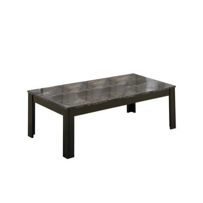 Black with Grey 3-Piece Table Set