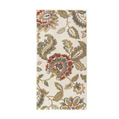 Lucy Cream 2 ft. x 4 ft. Indoor Area Rug