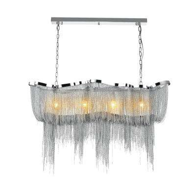 Secca 11-Light Chrome Chandelier