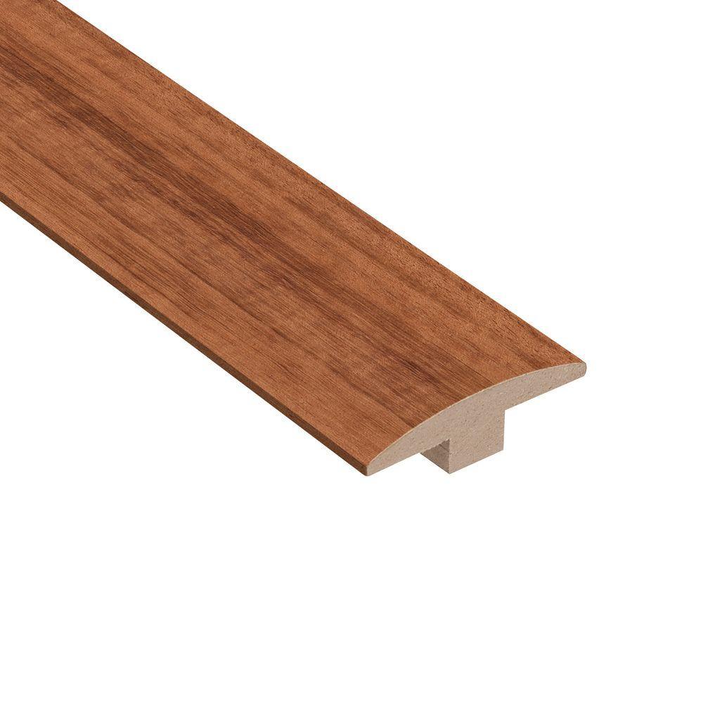 Brazilian Koa Kaleido 3/8 in. Thick x 2 in. Wide x 78 in. Length Hardwood T-Molding
