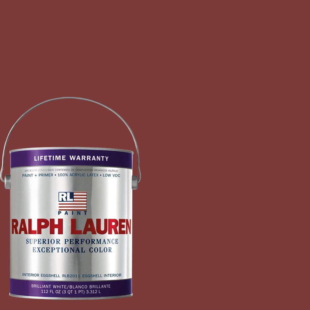 Ralph Lauren 1-gal. Hunting Coat Red Eggshell Interior Paint