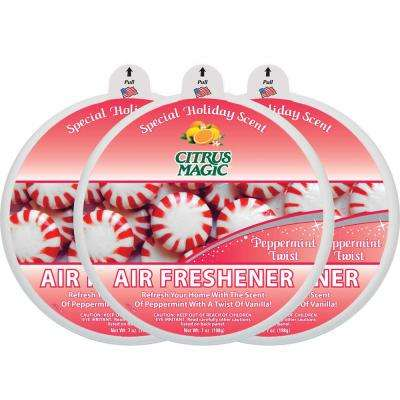 7 oz. Peppermint Twist Odor Absorbing Air Freshener (3-Pack)