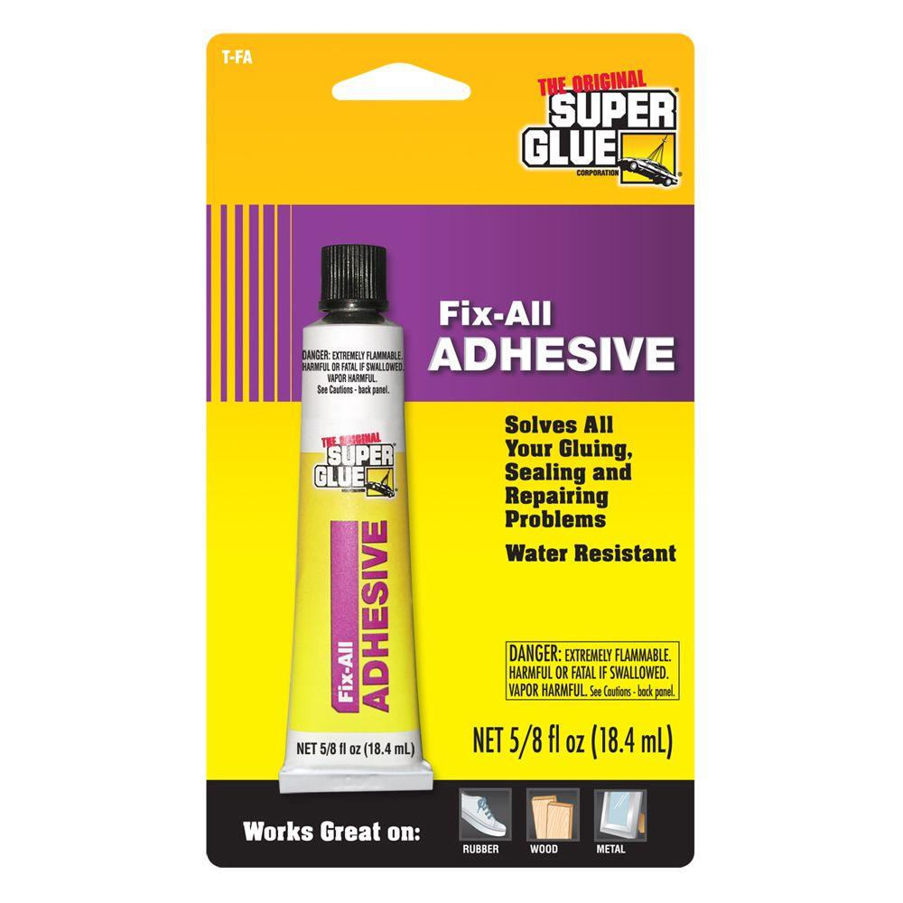 Super Glue For Metal >> Super Glue 0 625 Fl Oz Tube Fix All Adhesive 12 Pack