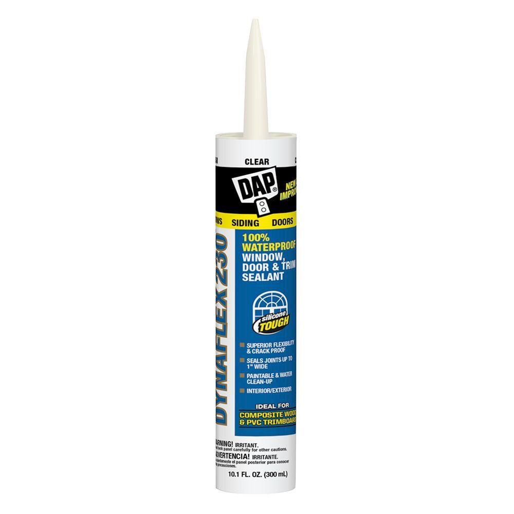 Dynaflex 230 10.1 oz. Clear Premium Indoor/Outdoor Sealant (12-Pack)