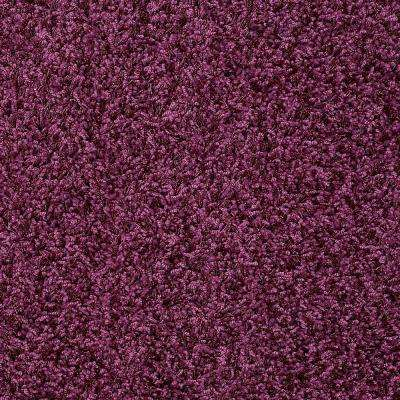 Carpet Sample - Whimsical - In Color Plum Silly 8 in. x 8 in.