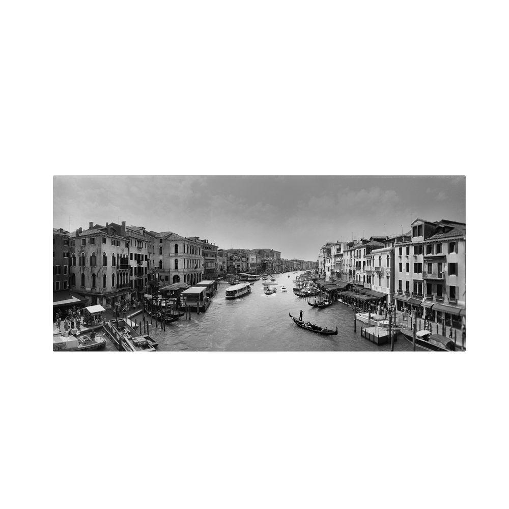 12 in. x 32 in. Gran Canale Canvas Art