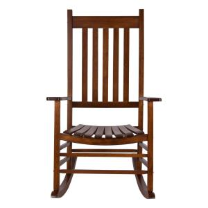 Tremendous Hampton Bay Black Wood Outdoor Rocking Chair It 130828B Ocoug Best Dining Table And Chair Ideas Images Ocougorg